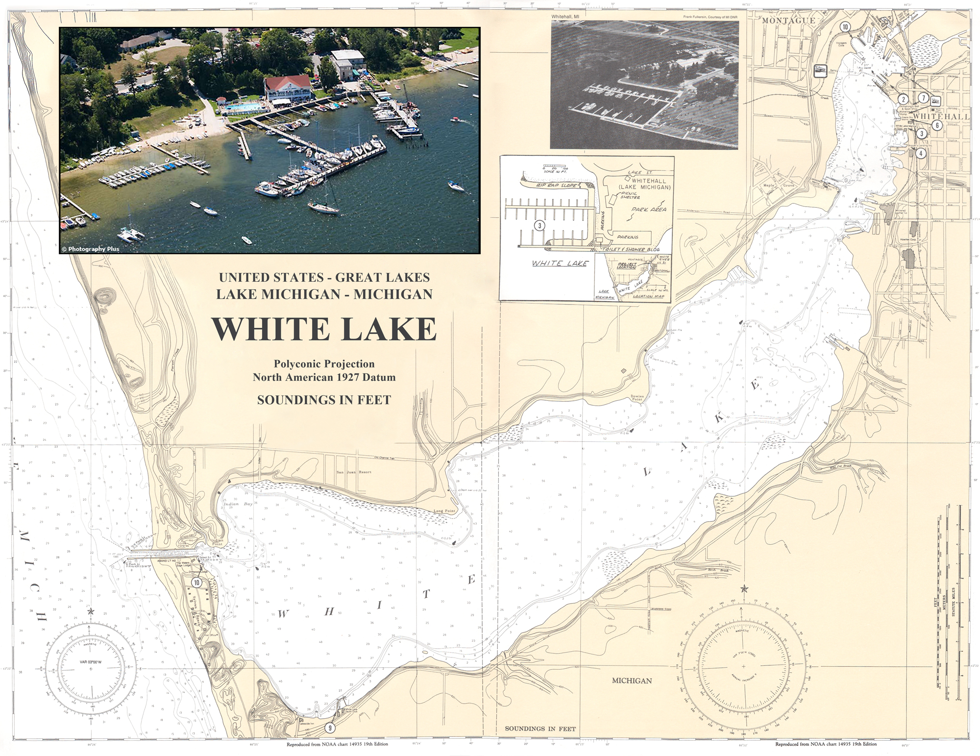 Regatta Maps - WMYA - Western Michigan Yachting Association